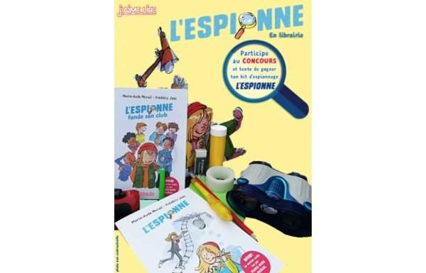 Concours PARIS MÔMES - Gagnez des kits d\'espionnage et des romans L ...