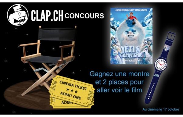 concours clap ch - gagnez des goodies du film  u0026quot y u00e9ti et compagnie u0026quot