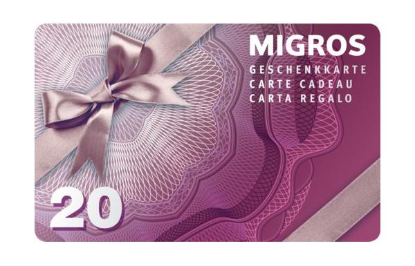 Concours Migros Vaud - Gagnez une carte cadeau de CHF 20.- Migros  Restaurant - Concours.ch