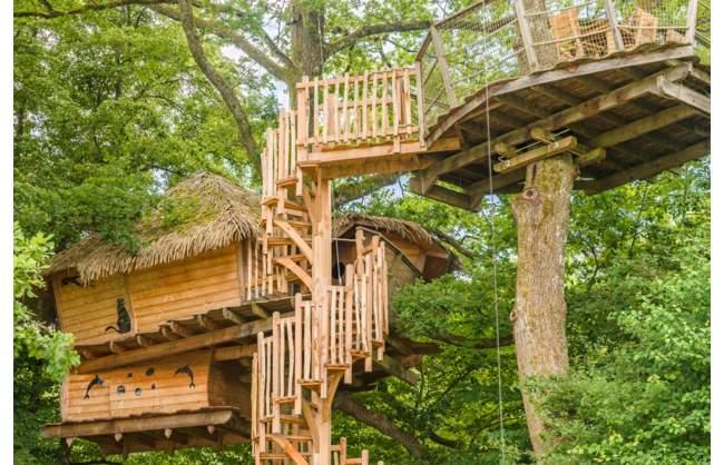 Gagnez un week-end familial dans les arbres