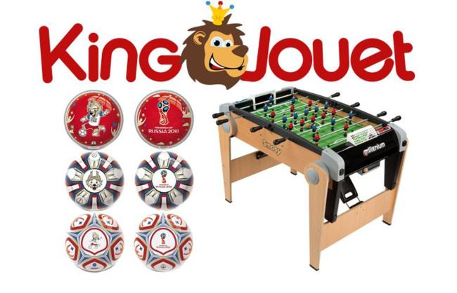 Gagnez des tonnes de cadeaux avec King Jouet
