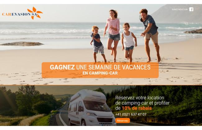 Gagnez une semaine de vacances en camping-car