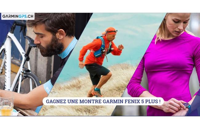 Gagnez un montre Garmin Fenix 5 Plus d'une valeur de CHF 979.–