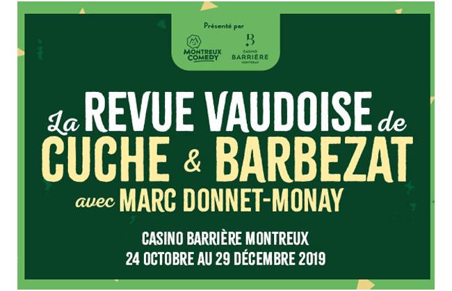 Gagnez des billets pour la revue Vaudoise à Montreux