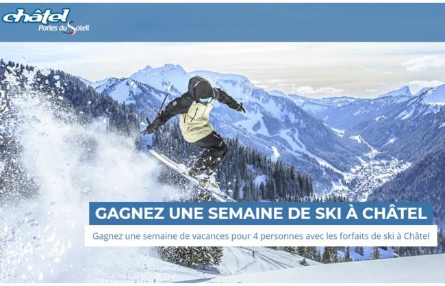 Gagnez une semaine de vacances familiales au ski à Châtel