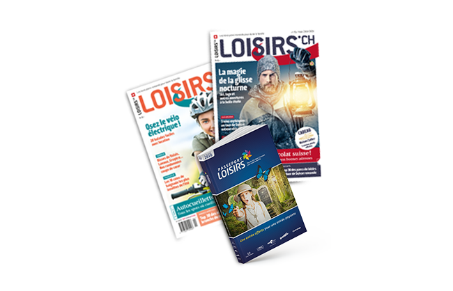 Code Promo exclusif Passeport Loisirs & Magazine Loisirs.ch