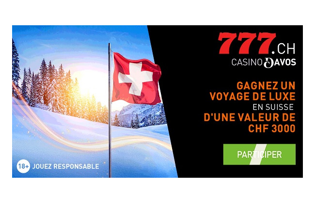Gagnez un voyage de luxe en Suisse d'une valeur de 3'000.-