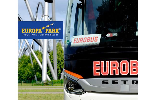 Bénéficiez d'une réduction de CHF 10.- par personne sur le voyage aller-retour à Europa-Park