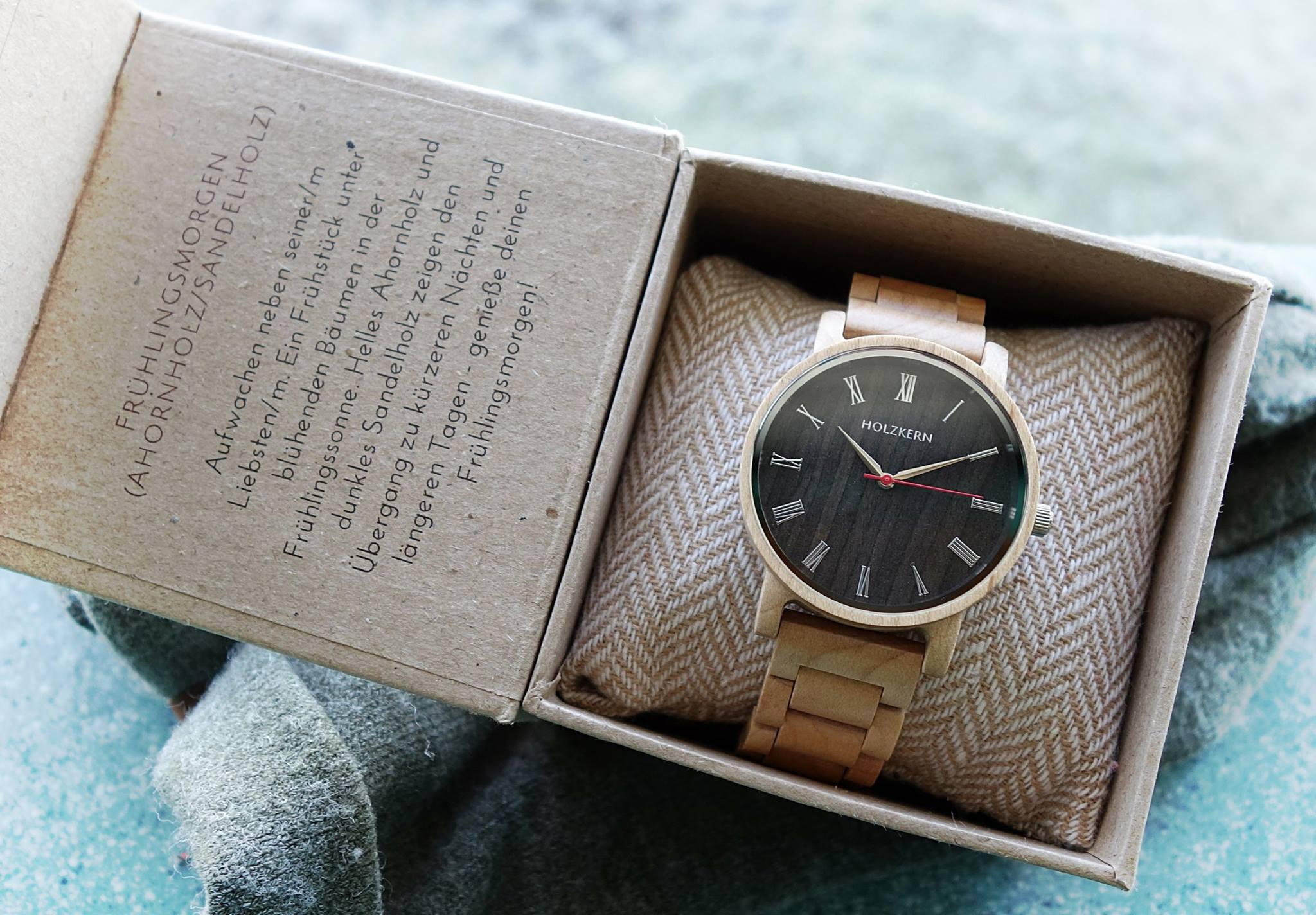 acheter populaire f59d1 681dc Concours Holzkern - Gagnez une montre HOLZKERN en érable ...