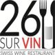 Gagnez vos repas au 26 SUR VIN À CHAVANNES-DE-BOGIS