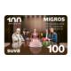 Gagnez des bons d'achat Migros de CHF 100.-