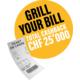 Gagnez le remboursement de vos achats et au tirage au sort principal CHF 5'000.– en espèces