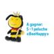 """Gagnez 5x 1 Peluche """"BeeHappy"""""""