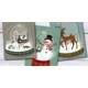 Recevez gratuitement 3 cartes de Noël empreintes de magie, avec leurs enveloppes