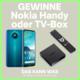 Gagnez le téléphone portable Nokia 3.4 d'une valeur de CHF 160.- et la box de diffusion Nokia 8000 d'une valeur de CHF 110.-