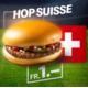 Chaque jour de match de l'équipe nationale suisse, le délicieux hamburger est à seulement CHF 1.-