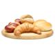 Lorsque vous achetez 10 petits pains frais ou croissants à l'unité, le 11e est offert