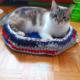 Gagnez un joli lit-panier pour votre chat ou votre petit chien